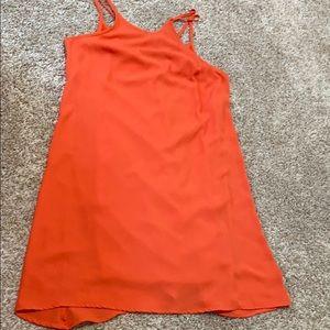 Cute comfy orange dress